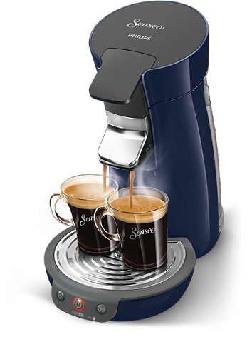 Senseo Viva Café - Cafetera (Independiente, Máquina de café en cápsulas, 0,