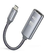 USB C to HDMI Adapter 4K 60Hz, Snowkids USB 3.1 Type C, Type C to HDMI Convertor, Thunderbolt 3 to HDMI Converter for MacBook Pro 2018/2017, iMac, Samsung Galaxy