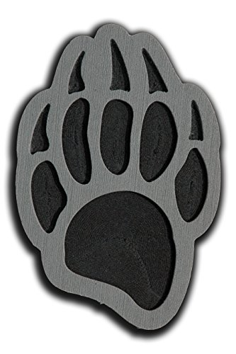 Toejamr Stomp Pad - Grizzly Bear - Gray by Toejamr