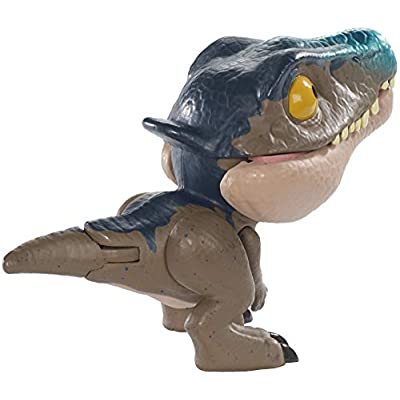 J W Jurassic World Snap Squad – Wave 4 Small Scale Collectible Mini Dinosaur ~ Mosasaurus: Toys & Games