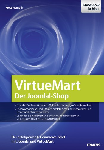 Joomla E Commerce With Virtuemart Ebook