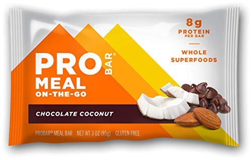 Probar Meal On The Go, Plant Based Sports Nutrition,Chocolate Coconut, 1 Ct