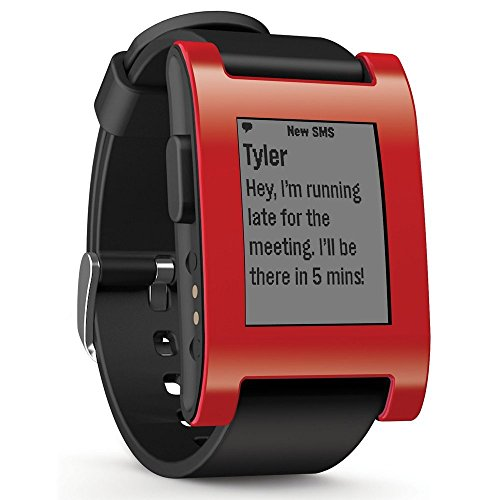 pebble-smartwatch-classic-for-iphone-and-android-devices-cherry-red-certified-refurbished