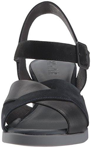 Kara Donna Tacco Nero Camper K200558 Sandalo 7w6Aa4
