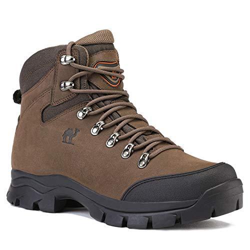 CAMEL CROWN Chaussures de Randonnée Homme Maintien Confort Respirant, Trekking Alpinisme Bottes de Randonnée Montagne… 5