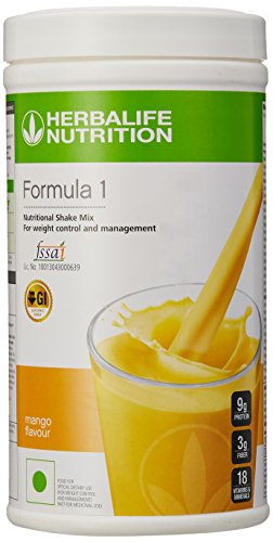 Herbalife Formula 1 Shake for Weight Loss (500 g,Mango ...