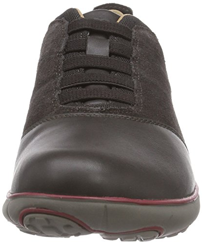 Geox Men's U Nebula B Low-Top Trainer Brown - Braun (C6372mud) DeexMOQ