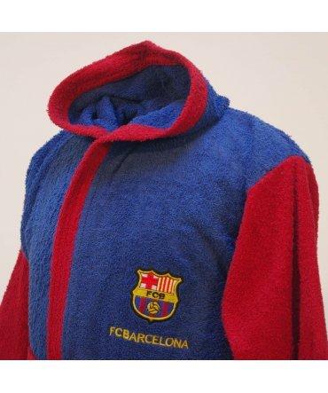 10XDIEZ Albornoz F.C Medidas Albornoces 8 Barcelona Infantil Azul