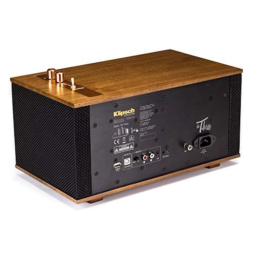 Klipsch THE THREE - WALNUT Wireless Speaker for Streaming Music