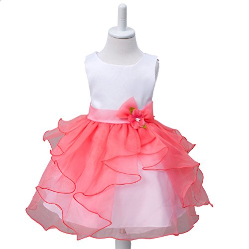frilly pink prom dress - 2
