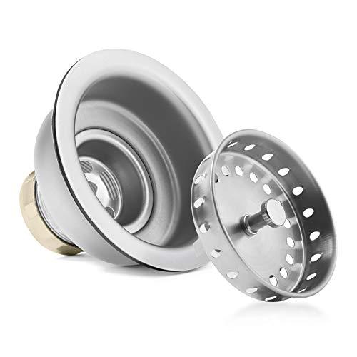 Miligore 30'' x 18'' x 9'' Deep Single Bowl Undermount Zero Radius Stainless Steel Kitchen Sink - Includes Drain/Adjustable Dish Rack by Miligore (Image #3)