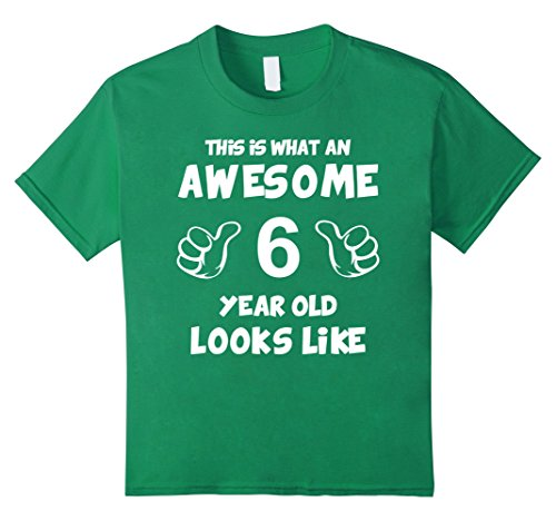Unisex Child 6th Boy Girl Birthday Shirts 6 Year Old Kids T Shirt