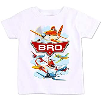 Disney Planes Bro Family Matching Birthday T-Shirt 4 Years