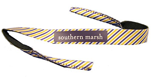 Southern Marsh Striped Sunglass Strap -