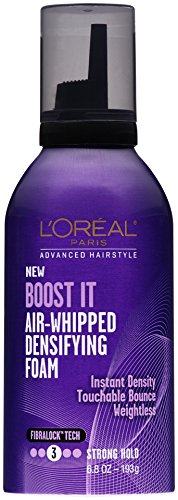 L'Oreal Paris Hair Care Advanced Hairstyle BOOST IT Air Whipped Densifying Foam, 6.8 Ounce L' Oreal - Hair Care