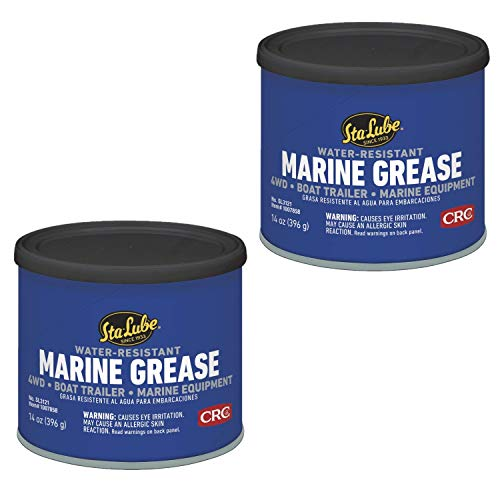 Sta-Lube SL3121 Marine Boat Trailer and 4 x 4 Wheel Bearing Grease - 14 wt. oz. 2 Pack
