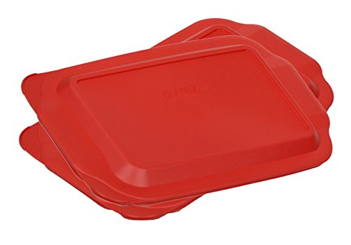 glass baking dish with lid 9x13 - 5