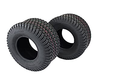 Antego Set of Two 18x8.50-8 4 Ply Turf Tires for Lawn & Garden Mowers 18x8.5-8