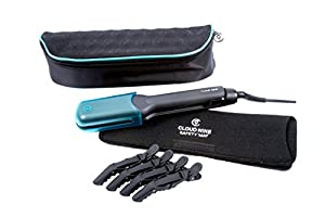 Cloud Nine Wide Hair Straighteners, Hair Clips, Luxury Carry Case and Heatproof Mat
