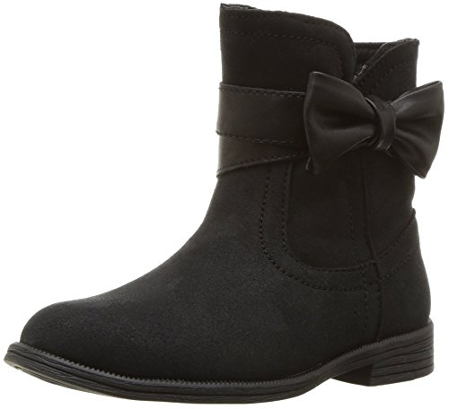 Leather Boots For Girls (UGG Girls' K Joanie Bow Boot Fashion, Black, 13 M US Little)