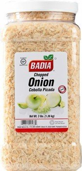 Badia Onion Flakes (Chopped) 3 lbs by Badia