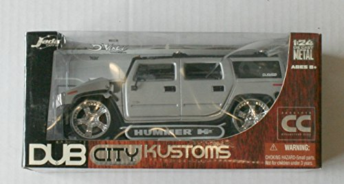 Kustom Metal - Dub City Kustoms Hummer H2 Die Cast Metal 1:24 Scale