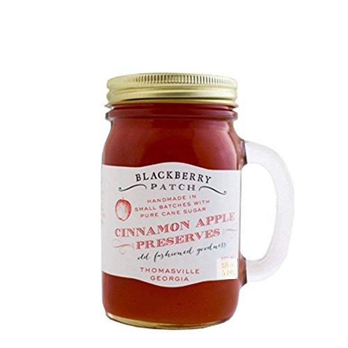 - Blackberry Patch Handled Mug All Natural Fruit Preserves (Cinnamon Apple, 18 Ounce)