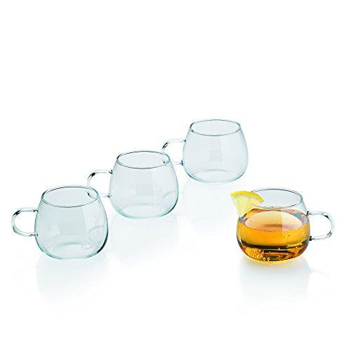 Kela 10757 Punsch-/ Bowle-Gläser, 4 Stück, 250 ml, Ciato