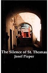 Silence Of St Thomas Paperback
