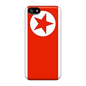 Awesome BqLFx305HOjwT GraceFavor Defender PC Hard For SamSung Galaxy S4 Phone Case Cover - North Korea Flag