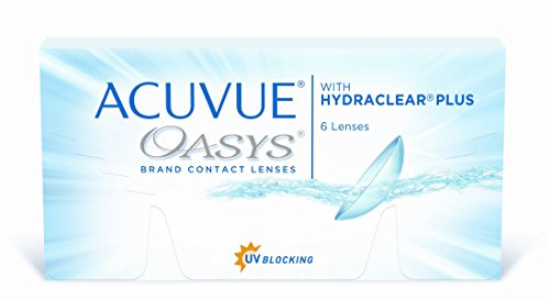 Acuvue Oasys 2-Wochenlinsen weich, 6 Stück / BC 8.4 mm / DIA 14.0 / -1,75 Dioptrien
