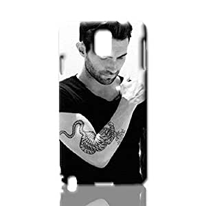 Adam Levine cool New Style Case ROUGH Skin 3D Hard Durable Case Cover for Samsung Galaxy Note 3 N9000