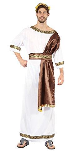 Men's Greek God With Brown Sash Costume ()