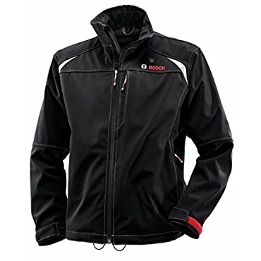 Bosch PSJ120 12-Volt Men's Black Heated Jacket