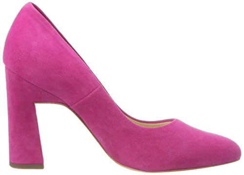 Rojo Peter con Mujer para Berry Tacón Kaiser Karolin Zapatos Suede Punta Cerrada 583 de 4Aq6Zw