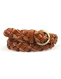 Lady braided belt Leisure all-purpose belt Fashion belts-B
