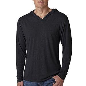 Next Level Mens Triblend Long-Sleeve Hoodie (N6021) -VINTAGE BL -L