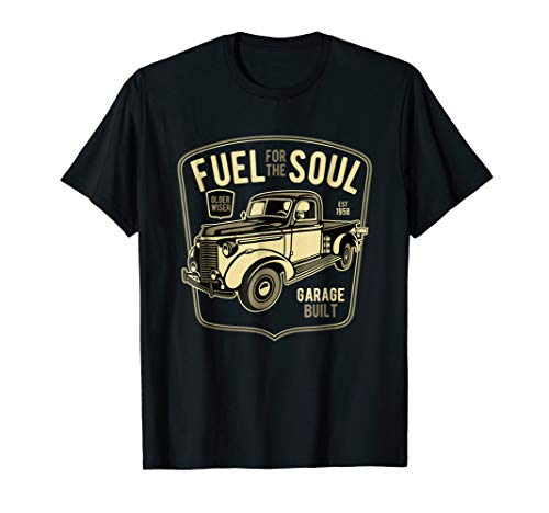 Vintage Truck 1950s Classic Cars 1958 Birthday Gifts T Shirt ()