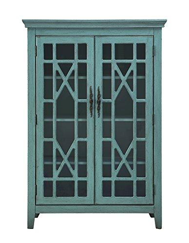 Treasure Trove 17347 Two Door Bookcase, Blue