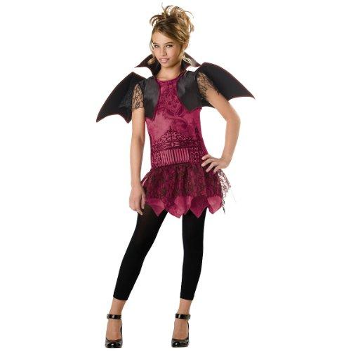 Vampire Costumes For Tween Girls (InCharacter Costumes Tween's Twilight Trickster Vampire Costume, Purple/Black, X-Large)