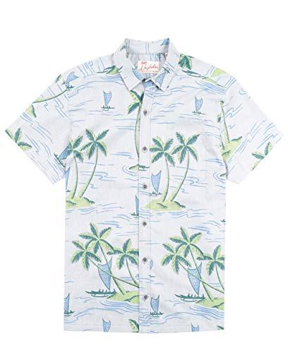 Kahala Shore Leave Hawaiian Shirt - - Leave Mens Shore