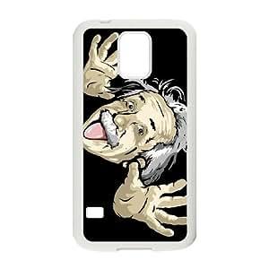 Samsung Galaxy S5 Cell Phone Case White Einstein 004 PQN6053055348218