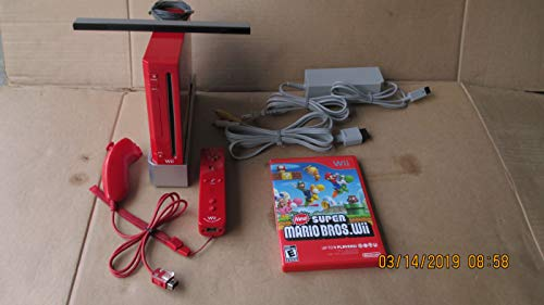 Wii Console Bundle – Red – Model RVL-001
