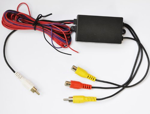 - Intelligent Car Video Switcher 3-way Input 1-way Output for the Car Camera