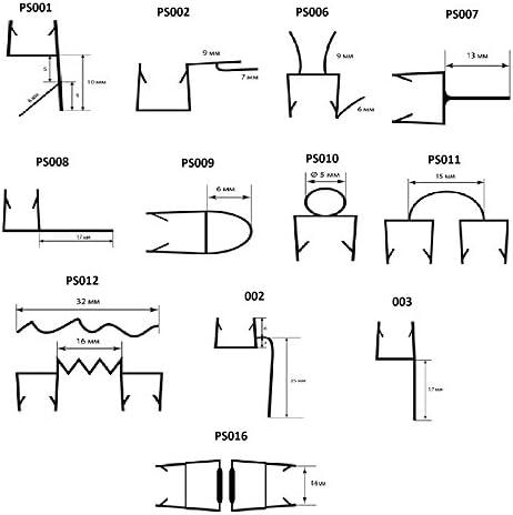 Joints Douche Joint Porte Douche Joint Pour Douche /Épaisseur de Verre de 4mm /à 6mm Joint /Étanch/éit/é Douche Joint de Rechange PS001 50cm