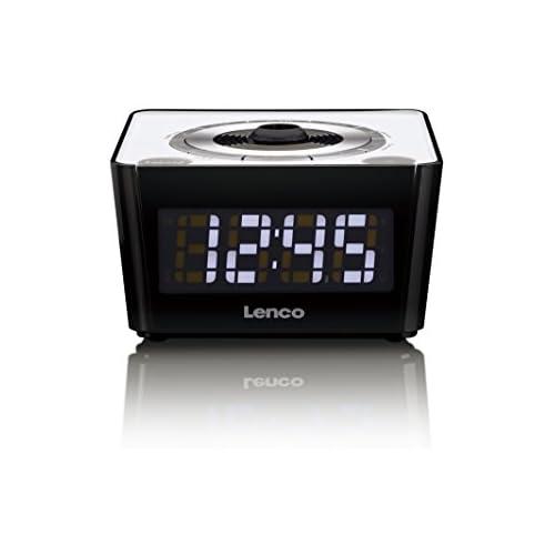 chollos oferta descuentos barato Lenco CR 16 Color blanco Rádio reloj