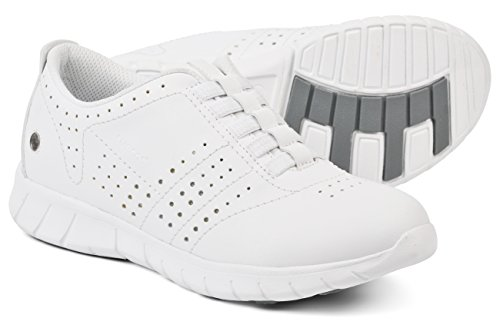 Bianco Blanco da Erik Donna Scarpe Lavoro Suecos® zq8nv6Y