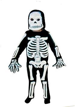 Christy`s 996242 - Disfraz de esqueleto para niño (3 años) , color ...