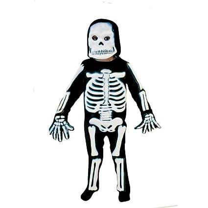 Christy`s 996242 - Disfraz de esqueleto para niño (3 años)