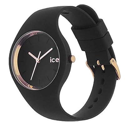 Ice-Watch - Ice Glam Schwarz Rose-Gold - Damen wristwatch mit Silikonarmband - 000980 (Medium) 3